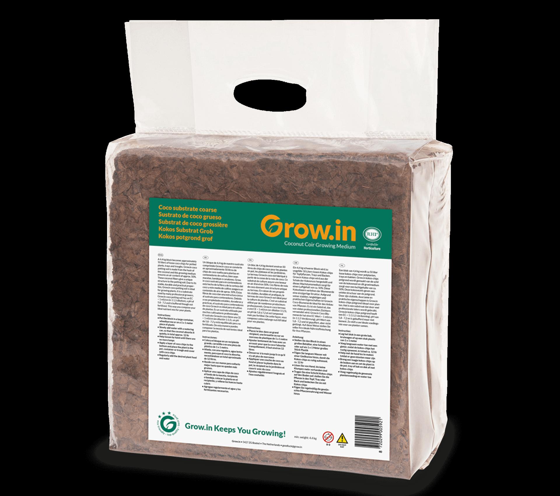 grow.in kokos potgrond grof blok nat